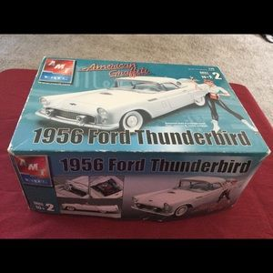 American Graffiti 1956 Ford Thunderbird Model Kit